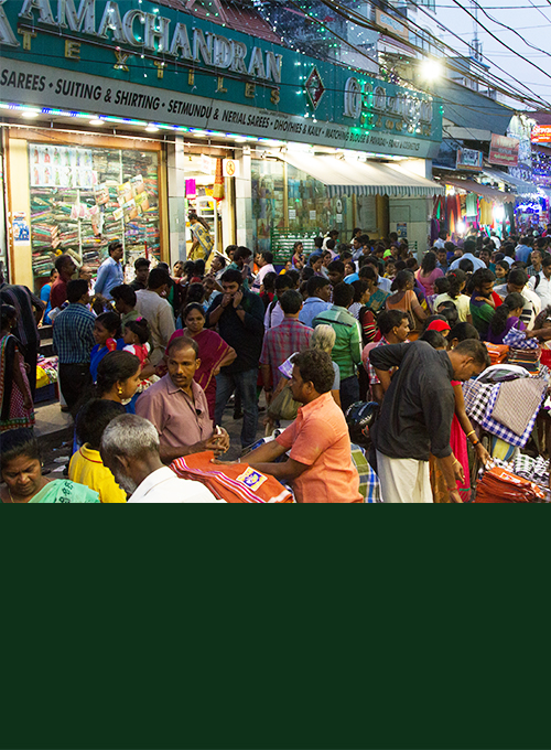 Shopping in Trivandrum-Shopping in Kerala-Ramachandran Textiles